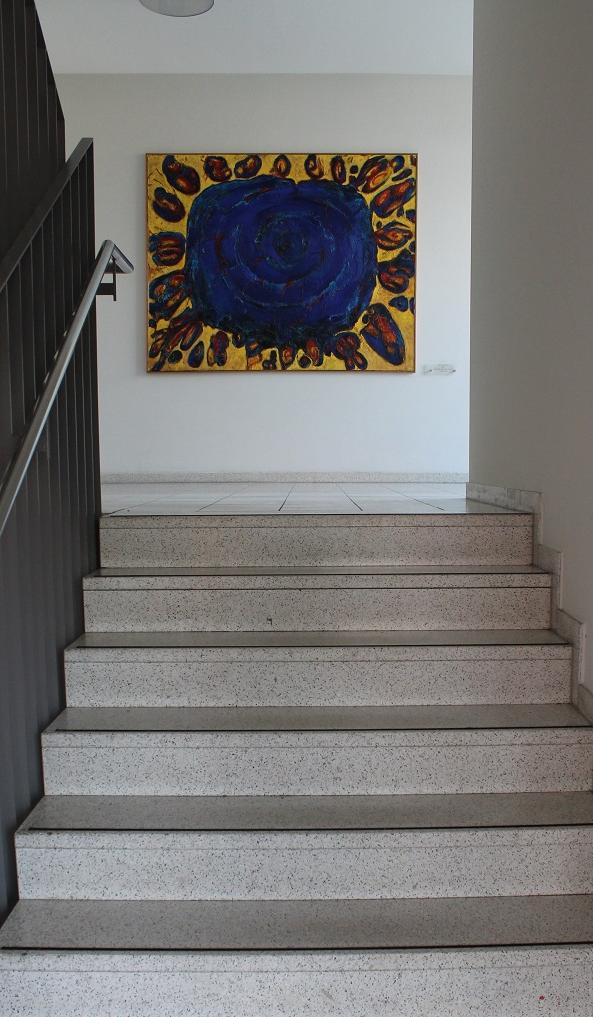 Carmen-Meiswinkel-Schoepfung-AZH-Hattingen-Schlamm-und-Oel-auf-Leinwand-150-x-150-cm-2002